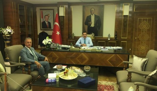 Belediye Başkanı Mehmet BOYRAZ 'ın Ankara ziyareti