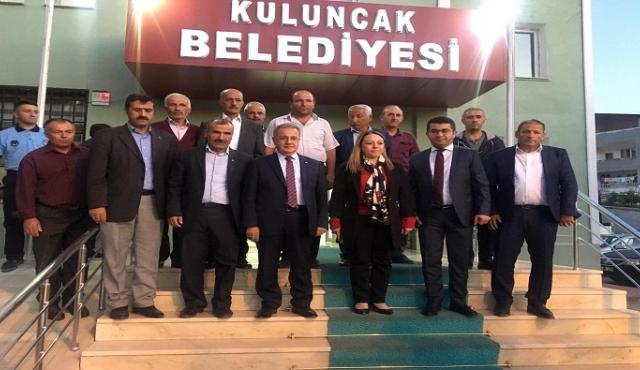 REKTÖR KARABULUT BAŞKAN BOYRAZ'I ZİYARET ETTİ