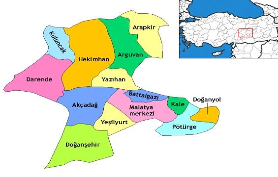 İlçe Haritası