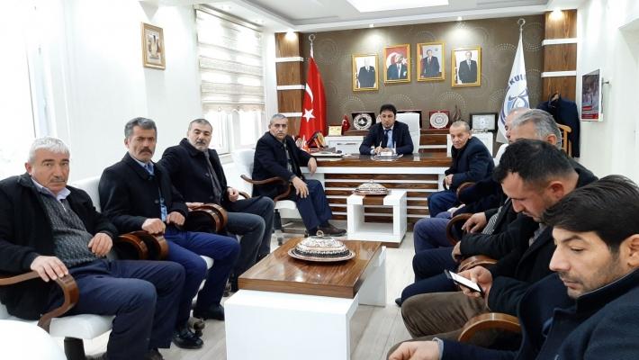 OCAK AYI MECLİS TOPLANTISI GERÇEKLEŞTİRİLDİ
